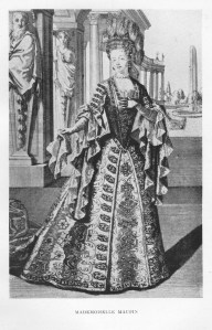 17ths century drawing of la Maupin