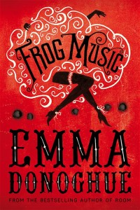 Book Cover - Frog Music