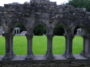 Image of ruined cloister