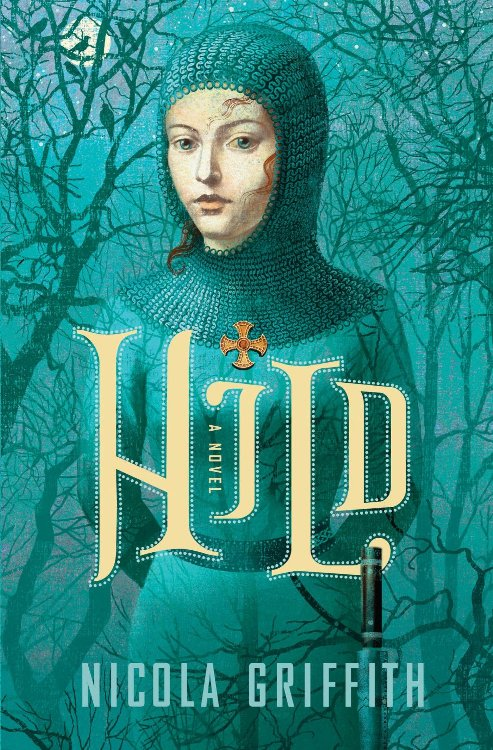 book cover for Hild