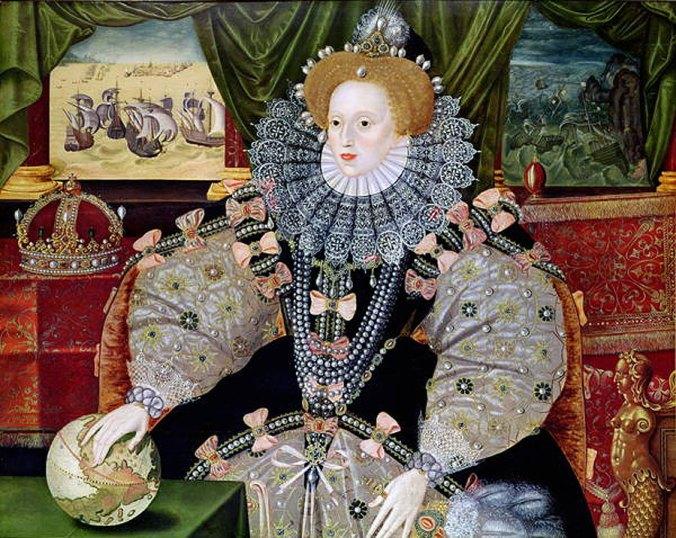 Portrait of Elizabeth 1