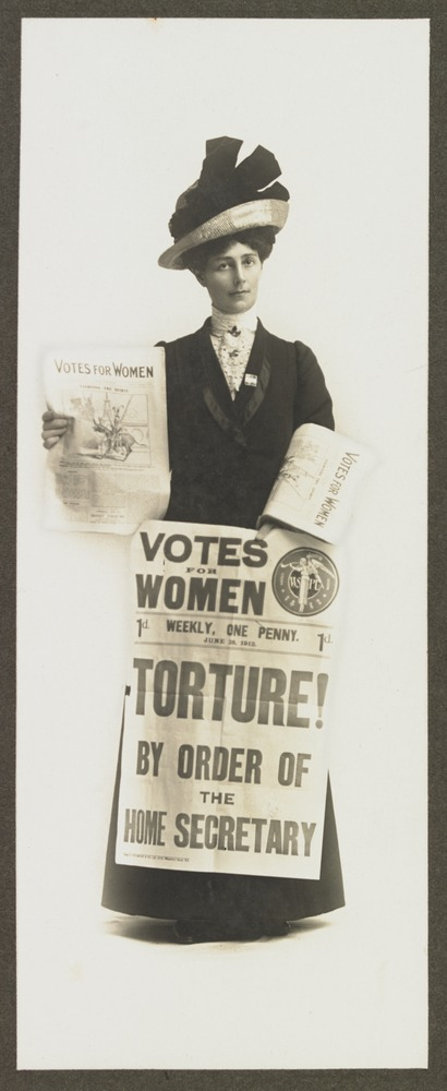 Suffragette and anti-conscription campaigner Vida Goldstein (Photo: State Library of Victoria)