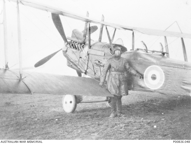 Lt Leslie Snell. Killed March 1918.