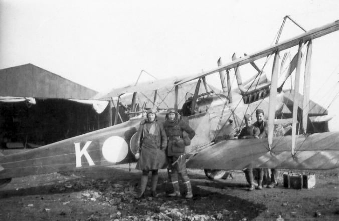 3 Squadron RE8 on the Western Front