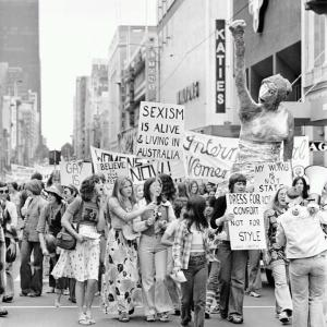 International Women's Day rally, 1970s