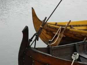 Viking boat reconstructions