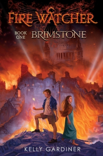 Brimstone front cover, first edition
