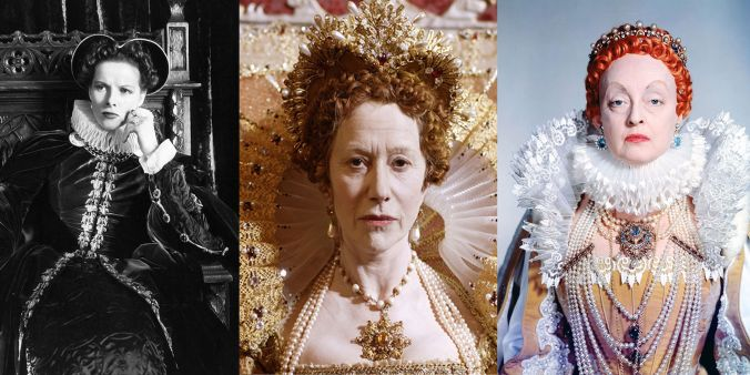 actresses as Elizabeth
