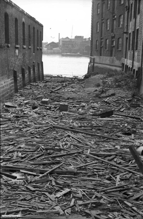 Puddle Dock 1947