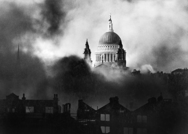 Herbert Mason's photo of St Paul's