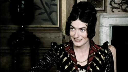 Anna Chancellor as Miss Bingley in the BBC production of Pride and Prejudice