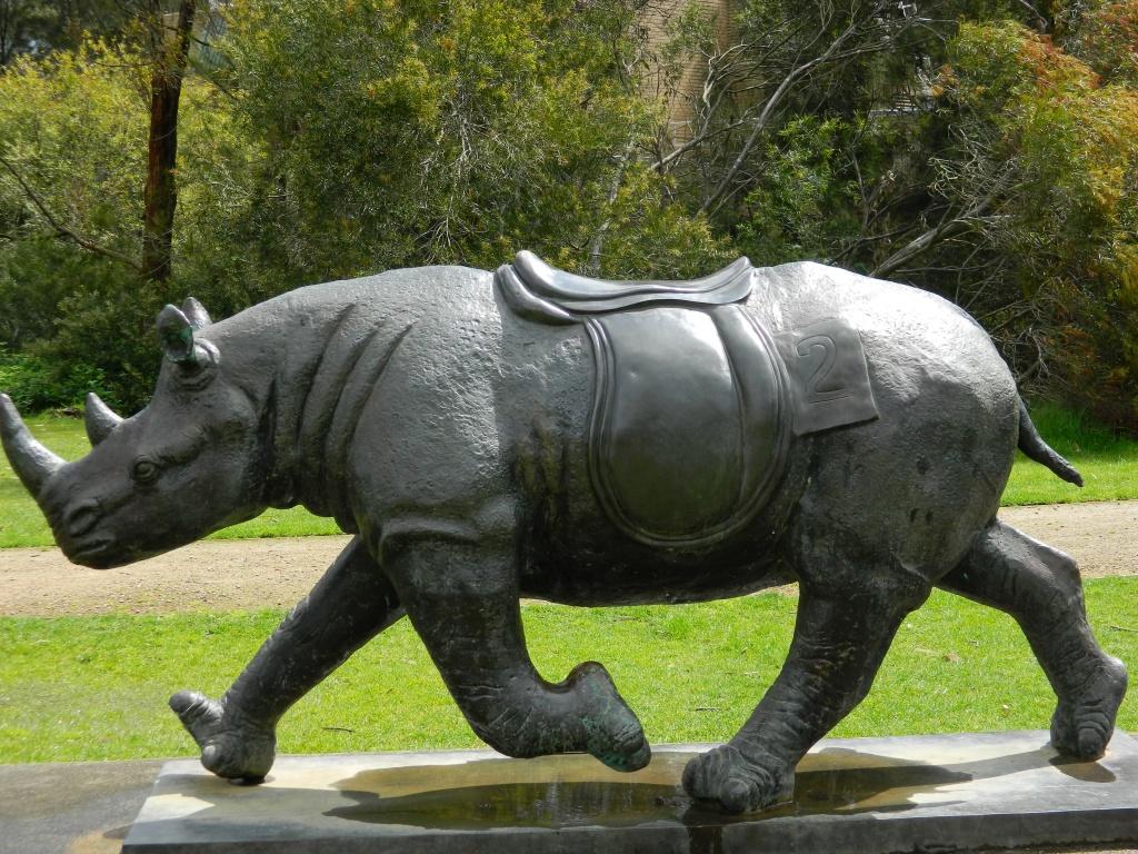 Statue of rhino