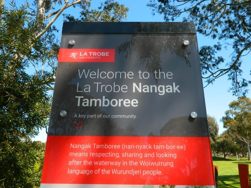 Sign - welcome to Nangak Tamboree